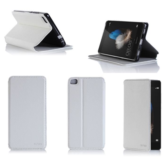 coque portefeuille huawei p8 lite